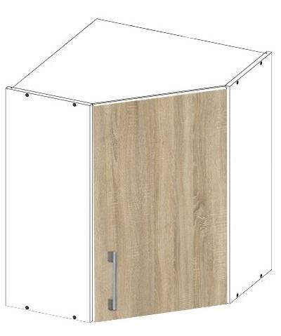 Шкаф для кухни в угол